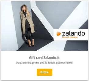 Gift Card Zalando 100€
