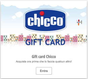 Giftcard chicco
